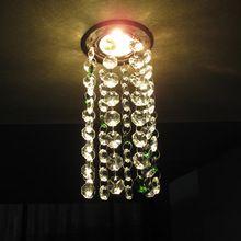 Modern crystal chandelier octagonal beads chandelier dining room chandelier LED lamps for voltage 90-260V(China (Mainland))