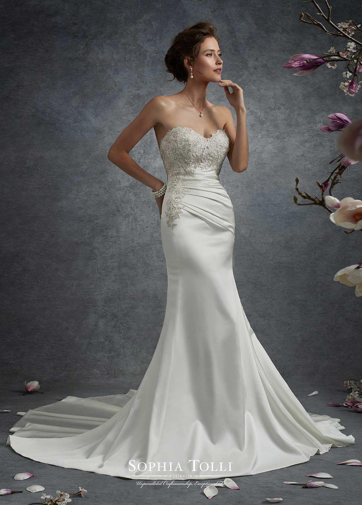 Sophia Tolli Y21744   Sophia Tolli   Wedding time   Pinterest ...