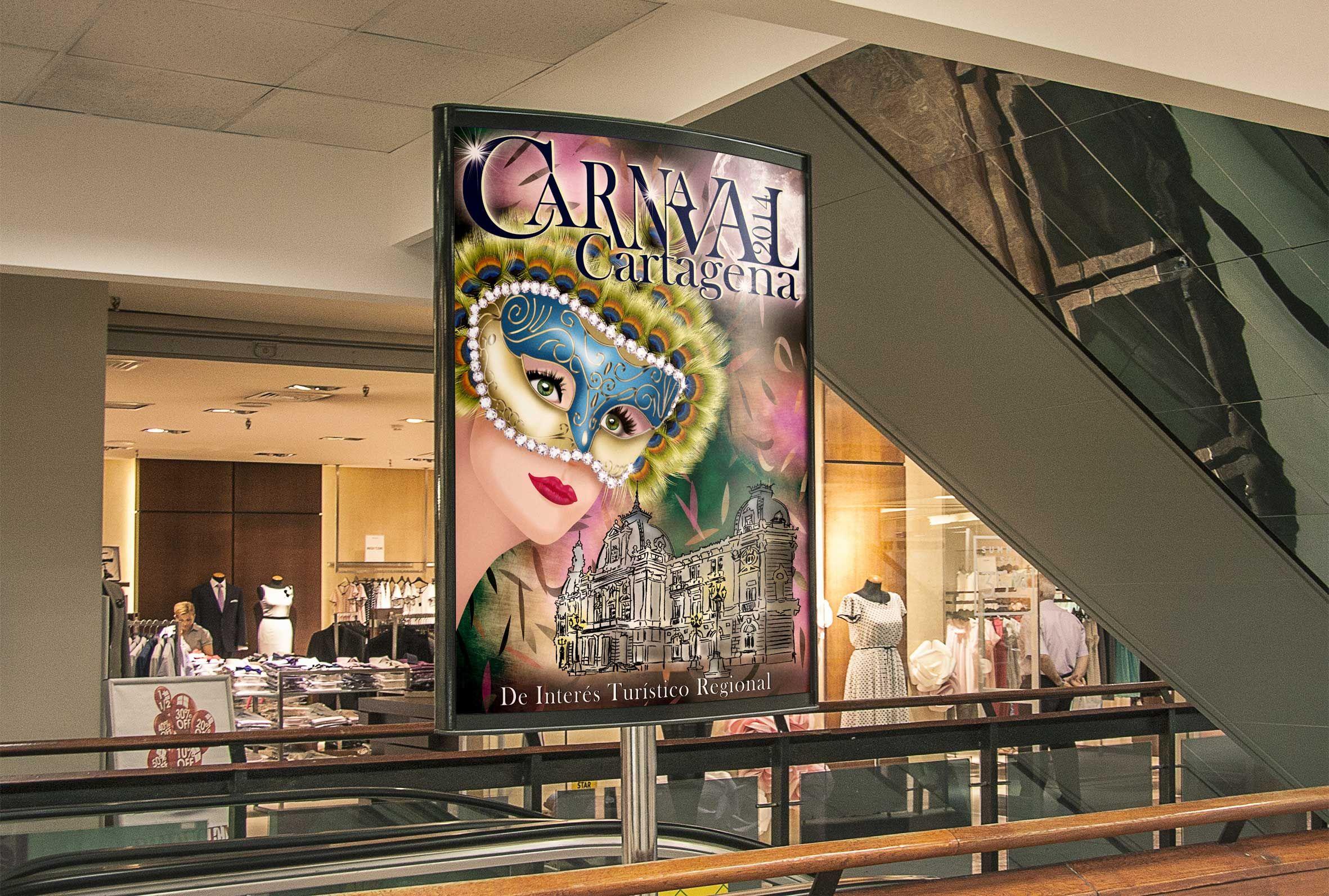 Concurso Cartel Carnaval de Cartagena 2014