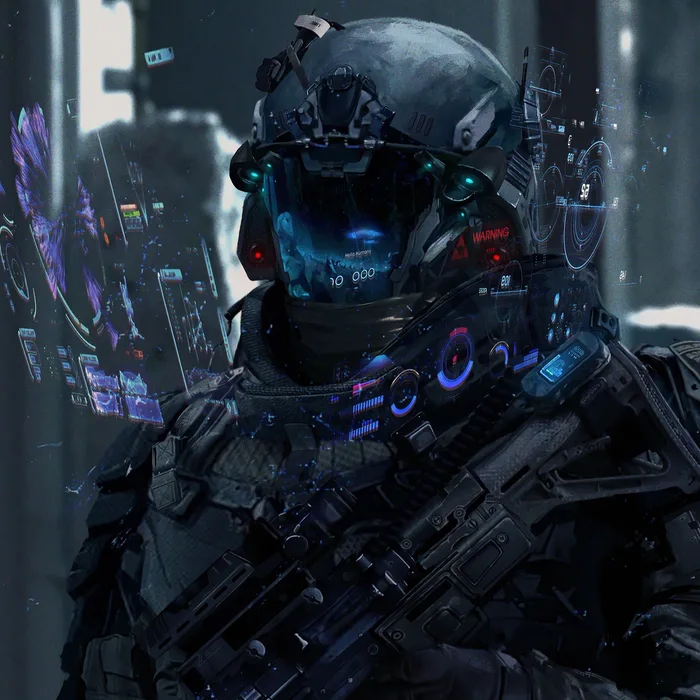 Give Me Any Kindda Wallpapers Like This Sci Fi Soldiers Or Fan Art Or Badass Looking Suits Cyberpunk Art Futuristic Art Cyberpunk