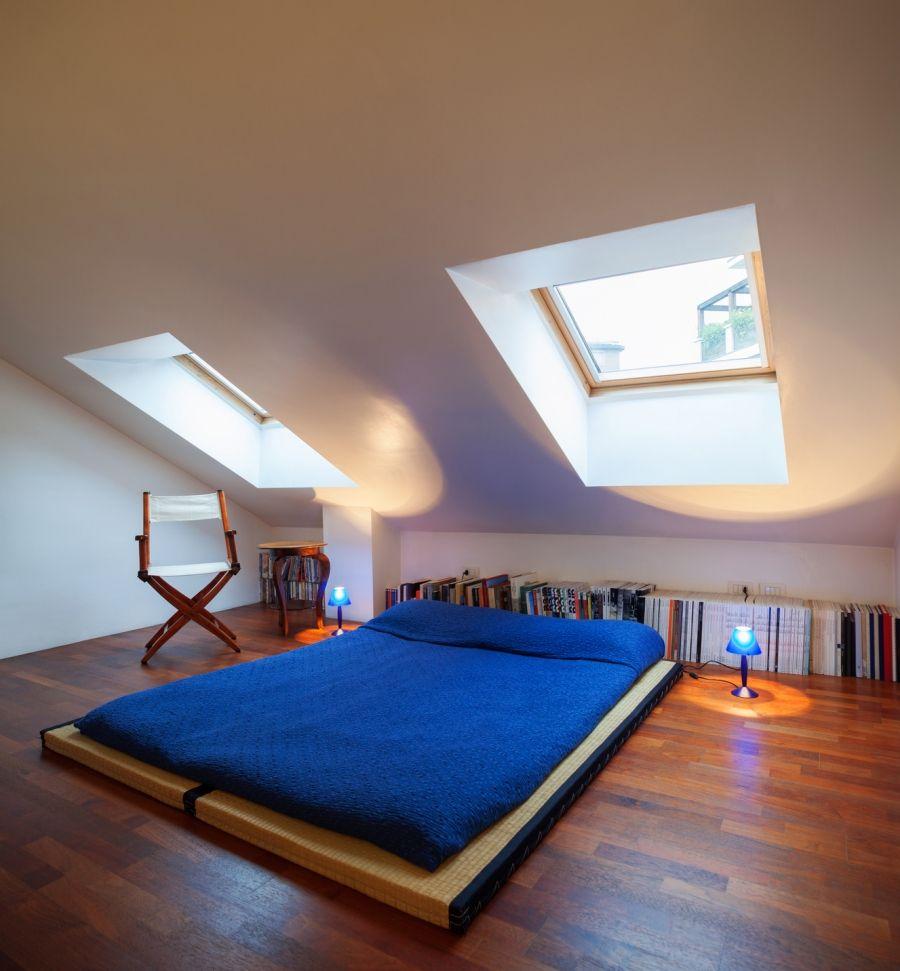 dachfenster gegen hitze sch tzen how to isolate skylights against summer heat rund ums haus. Black Bedroom Furniture Sets. Home Design Ideas
