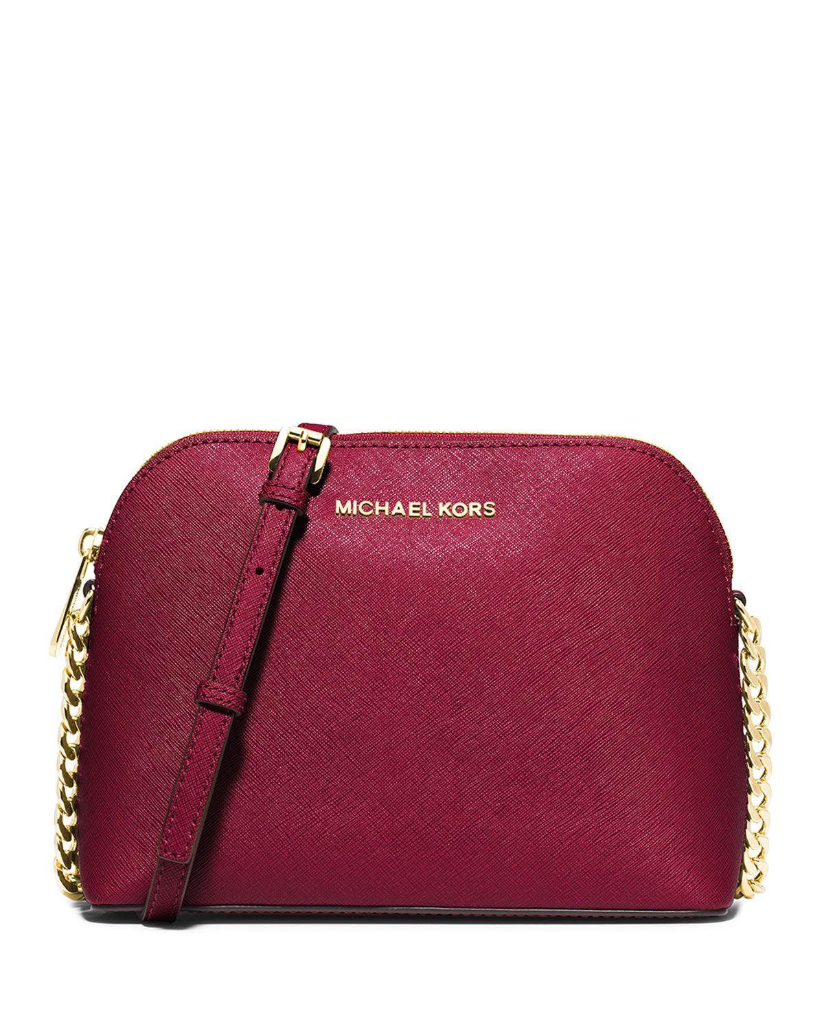 71cde326e3f9 MICHAEL Michael Kors Cindy Large Dome Crossbody Bag, Cherry | bags ...