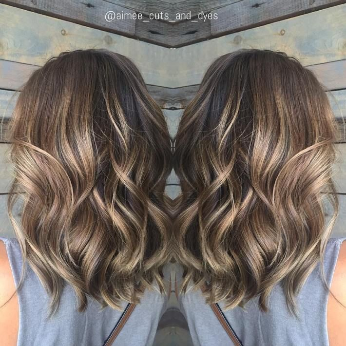 90 Balayage Hair Color Ideas With Blonde Brown And Caramel Highlights Shoulder Length