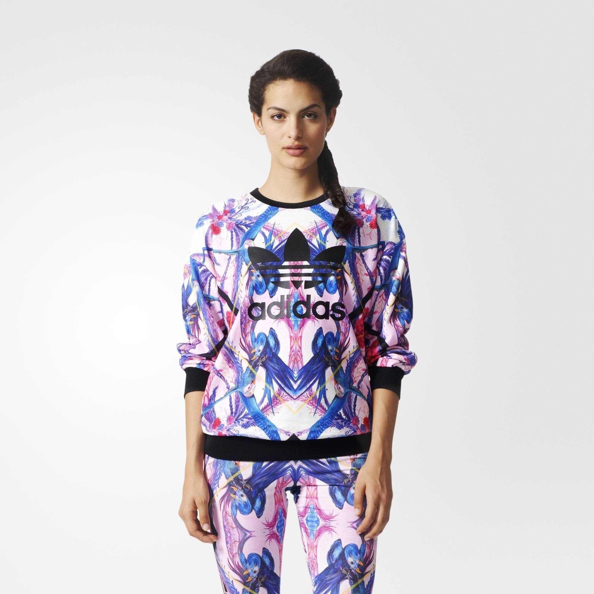Adidas Sweatshirt Mehrfarbig Adidas Deutschland Clothes Sweatshirts Clothes Design [ 2000 x 2000 Pixel ]