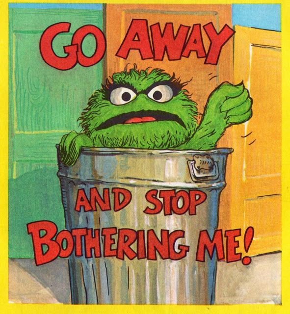 How To Be A Grouch A Vintage Sesame Street Guide To Grumpiness Oscar The Grouch Grouch Sesame Street