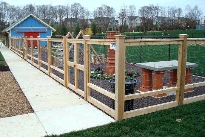 Best Hog Panel Deck Railing Wire Deck Railing Hog Wire Fence 640 x 480