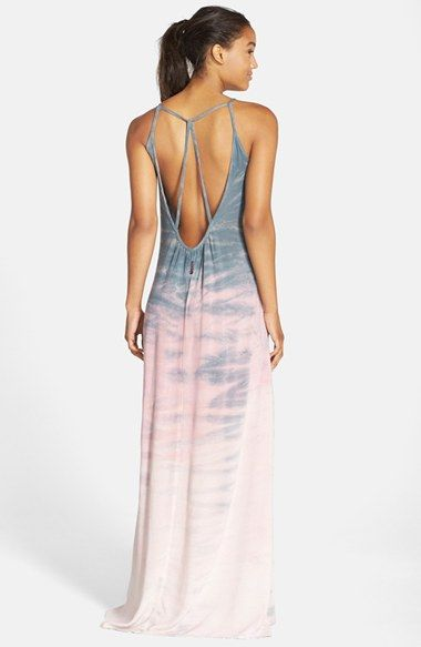Hard Tail Drop Back Maxi Dress Nordstrom