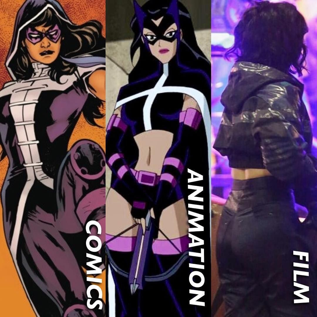 Combining Looks Mary Elizabeth Winstead In Birds Of Prey Huntress Live Action Film Costume Combines Elements Of The Rec Huntress Mary Elizabeth Live Action