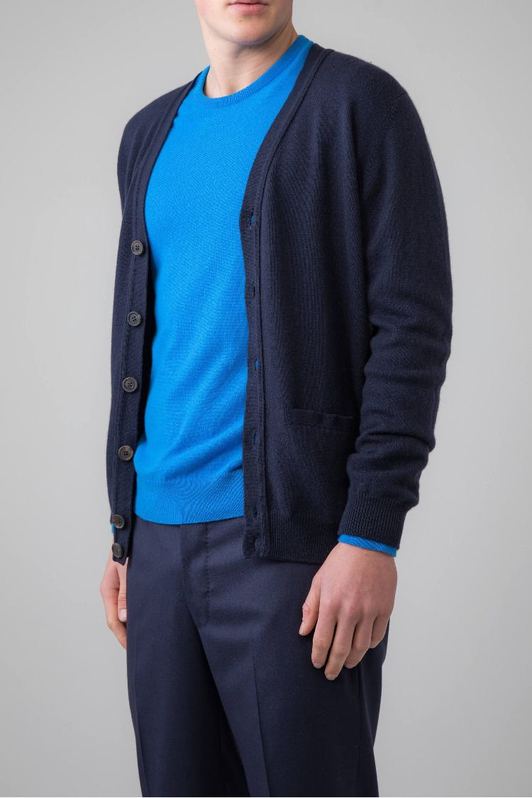 Men's Cashmere Cardigan | Unparalleled in sophistication