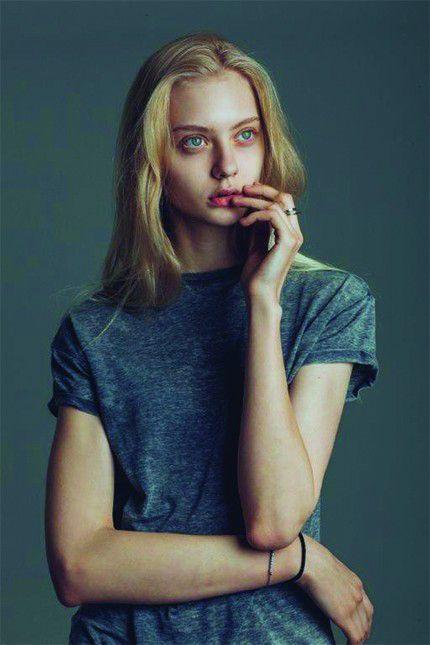 Teen model ice
