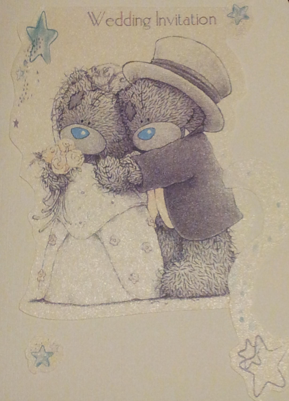 Me to You, Tatty Teddy Wedding Invite | Tatty Teddy | Pinterest ...