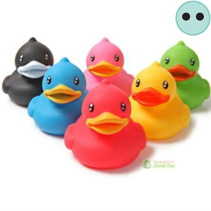 5,5 cm Bath Duck Rubber Duck green collorchanging