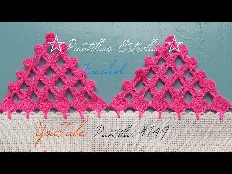 PUNTILLAS PARA MANTEL Y SERVILLETAS #31 Puntillas Fáciles