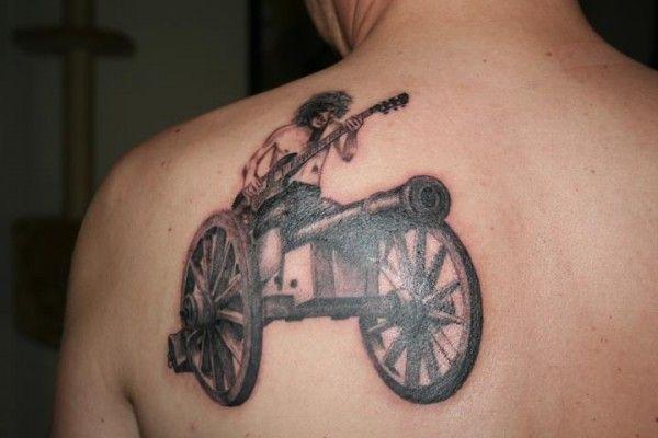 Ac Dc Tattoo Acdc Tattoo Music Tattoos Tattoos