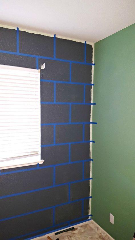 DIY Minecraft Bedroom Block Wall Tutorial! - Leap of Faith Crafting