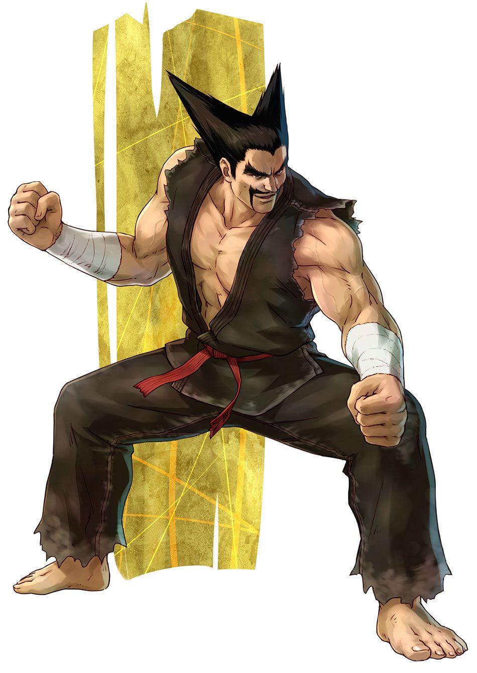 heihachi mishima characters art project x zone 2 character art game character design character design heihachi mishima characters art