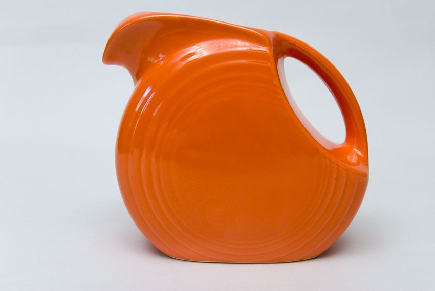 Vintage Fiestaware Pitcher Found It For 3 00 At Goodwill Today Yay Fiestaware Juice Pitcher Pitcher