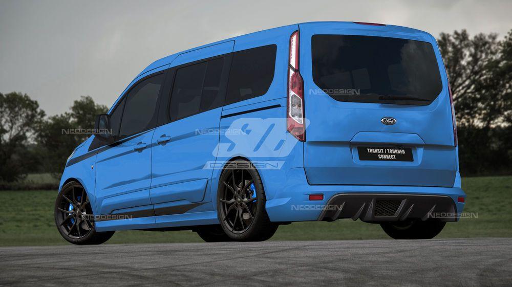 Ford Transit Connect Tourne Spoiler Set Front Heck Stossstange Bosy