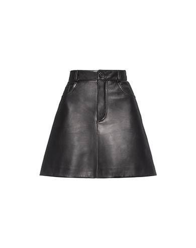 Miu Miu - Skirts - Black - Italy - MPD486_1MNN_F0002