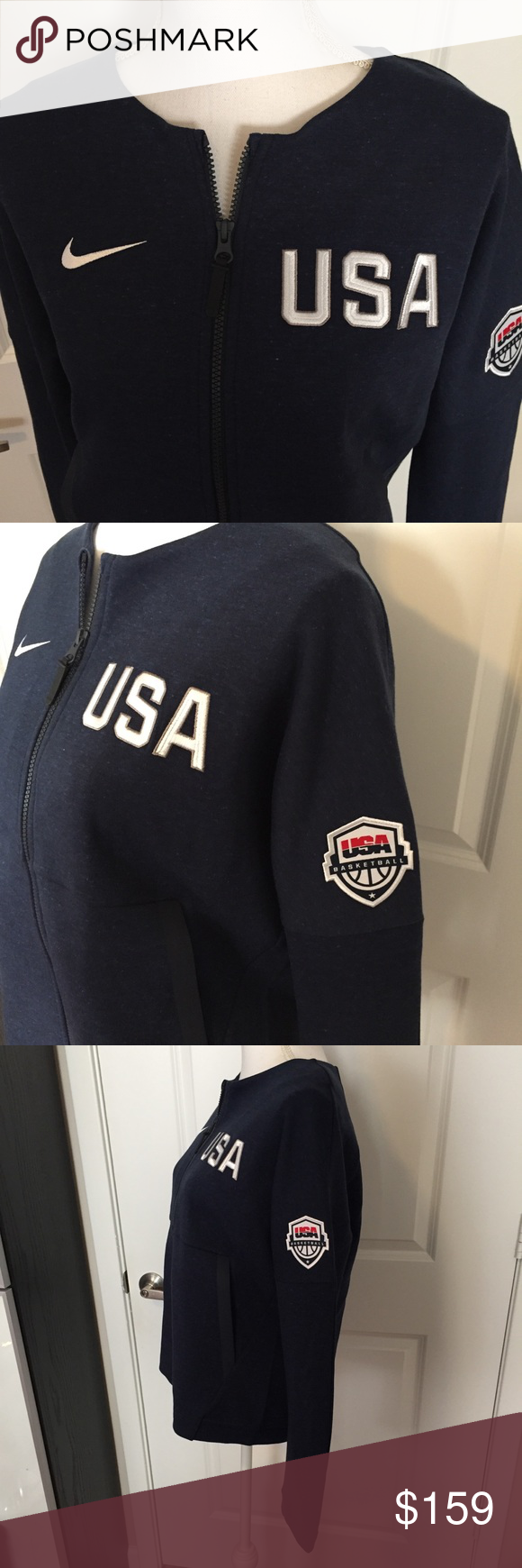 Nike Tech Fleece Team USA track jacket 🇺🇸 Women's Nike