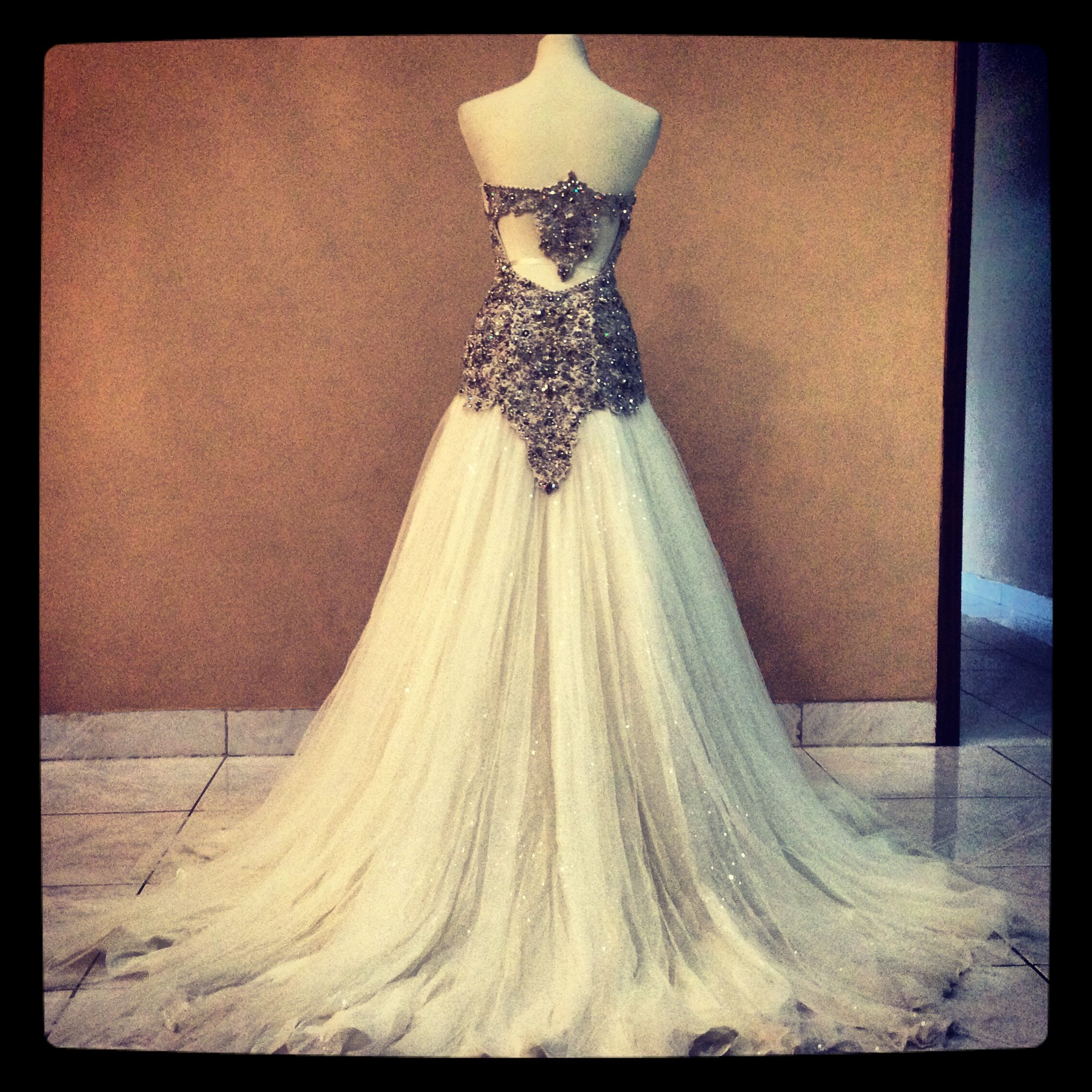 Funky Wedding Gowns: Bridal Gown By MischBCouture