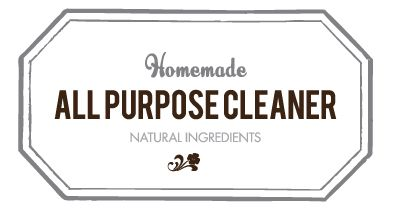 recipes for natural cleaners using doTerra oils and link for inkjet water proof labels and labels to download.