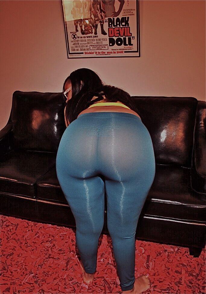 round oily ass