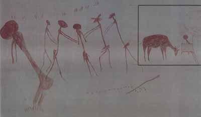 6000 BC from Tassili, Sahara Desert, North Africa