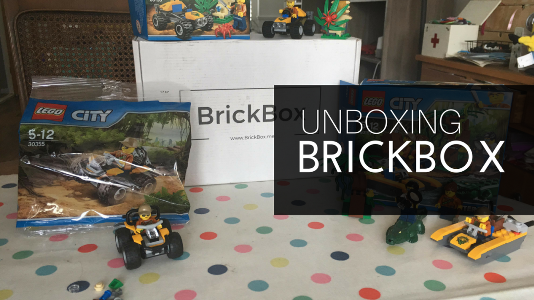 The BrickBox subscription box for brick fans