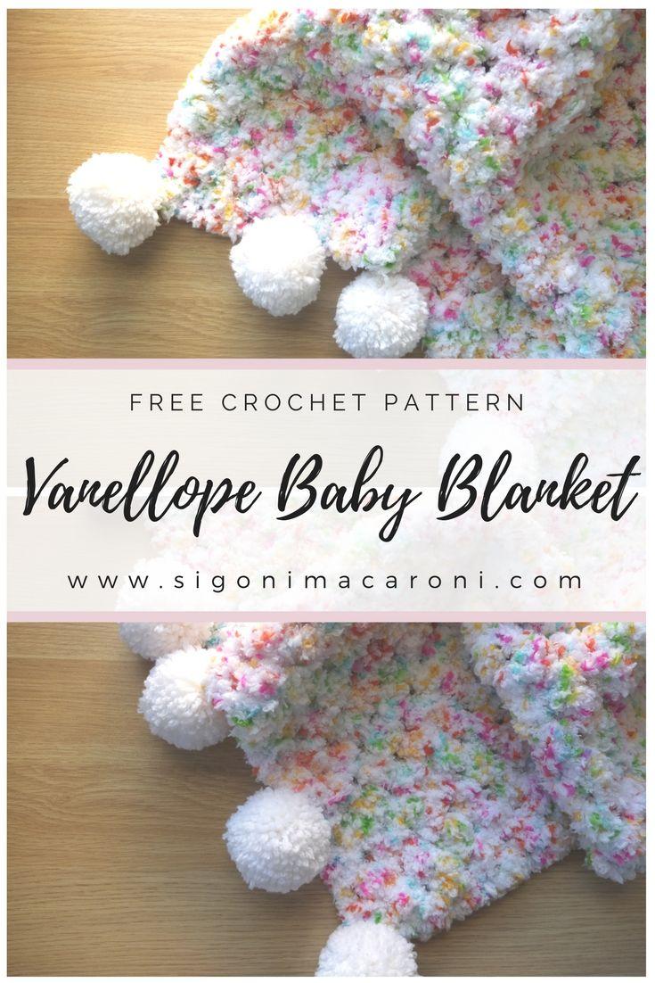 The Vanellope Crochet Baby Blanket is a free crochet pattern ...