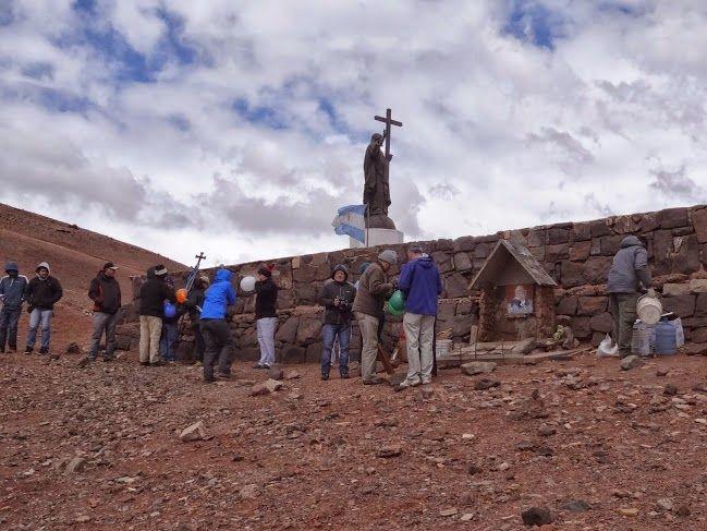 """Capturador de Imágenes: """"En los Andes construiremos un santuario,símbolo de unión de nuestros pueblos"""""""