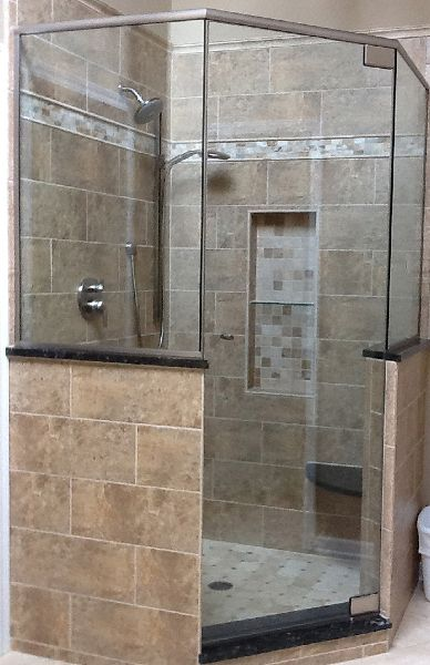 Neo Angle Glass Shower Doors With Images Neo Angle Shower