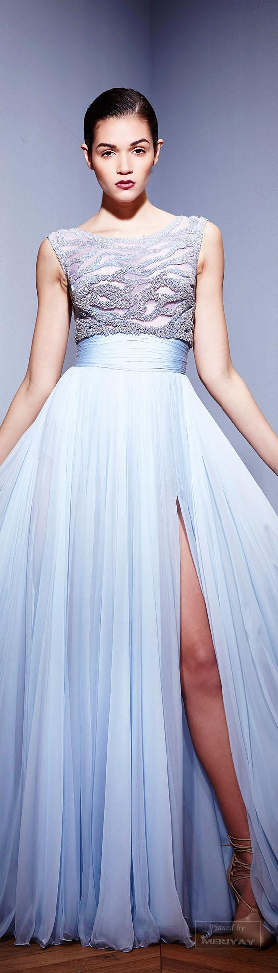 Azul claro dress pinterest zuhair murad fall and gowns