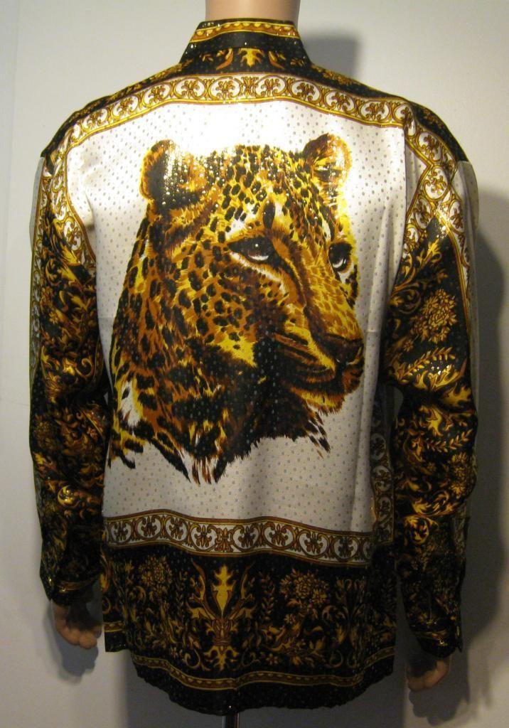 f32524c791af2d Leopard Print Shirts Vintage 90 s in 2019