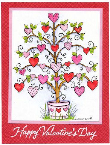 valentine's day illustrations - Google 検索
