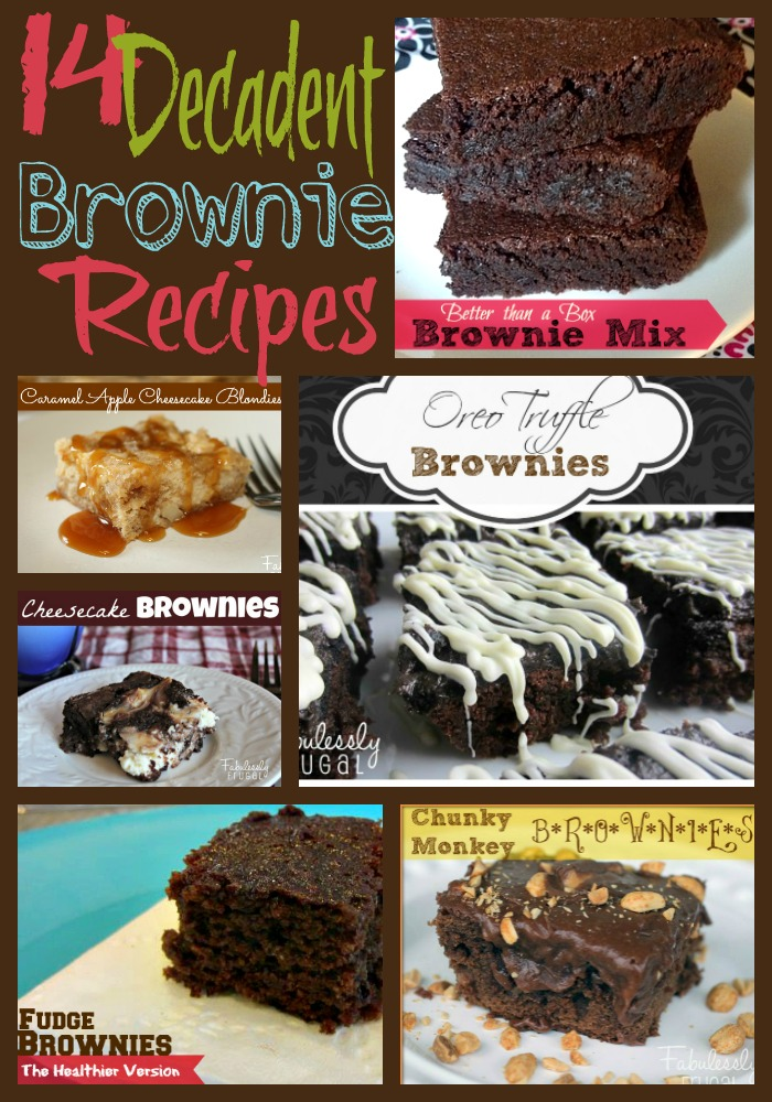 14 Decadent Brownie Recipes
