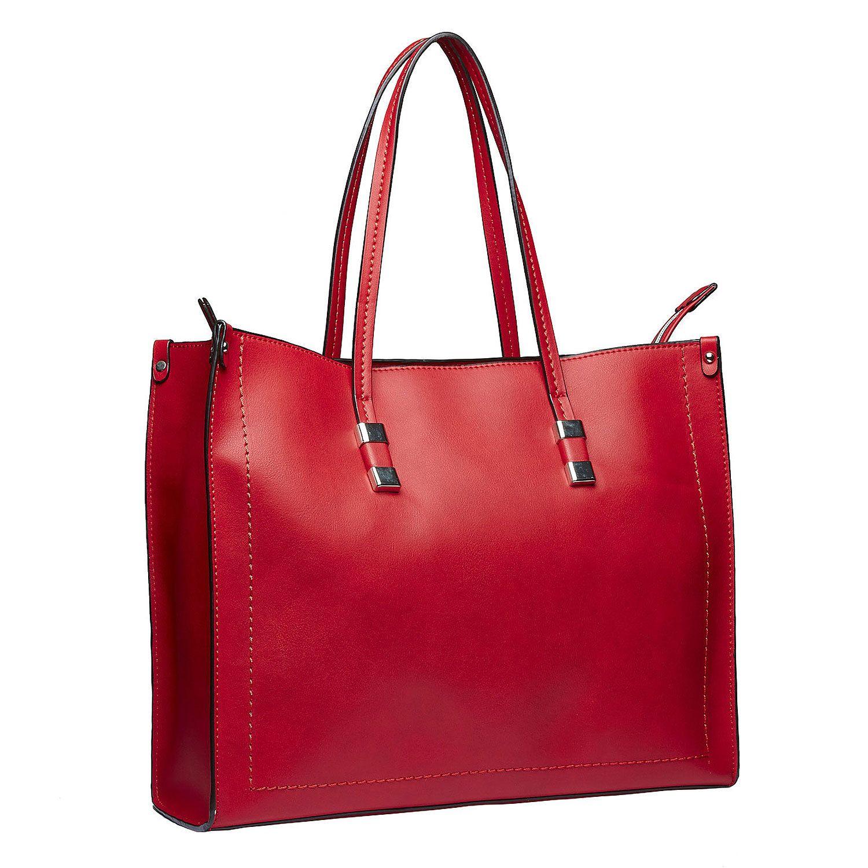 Hranatá kabelka v Shopper stylu bata 4f8fa35fb41