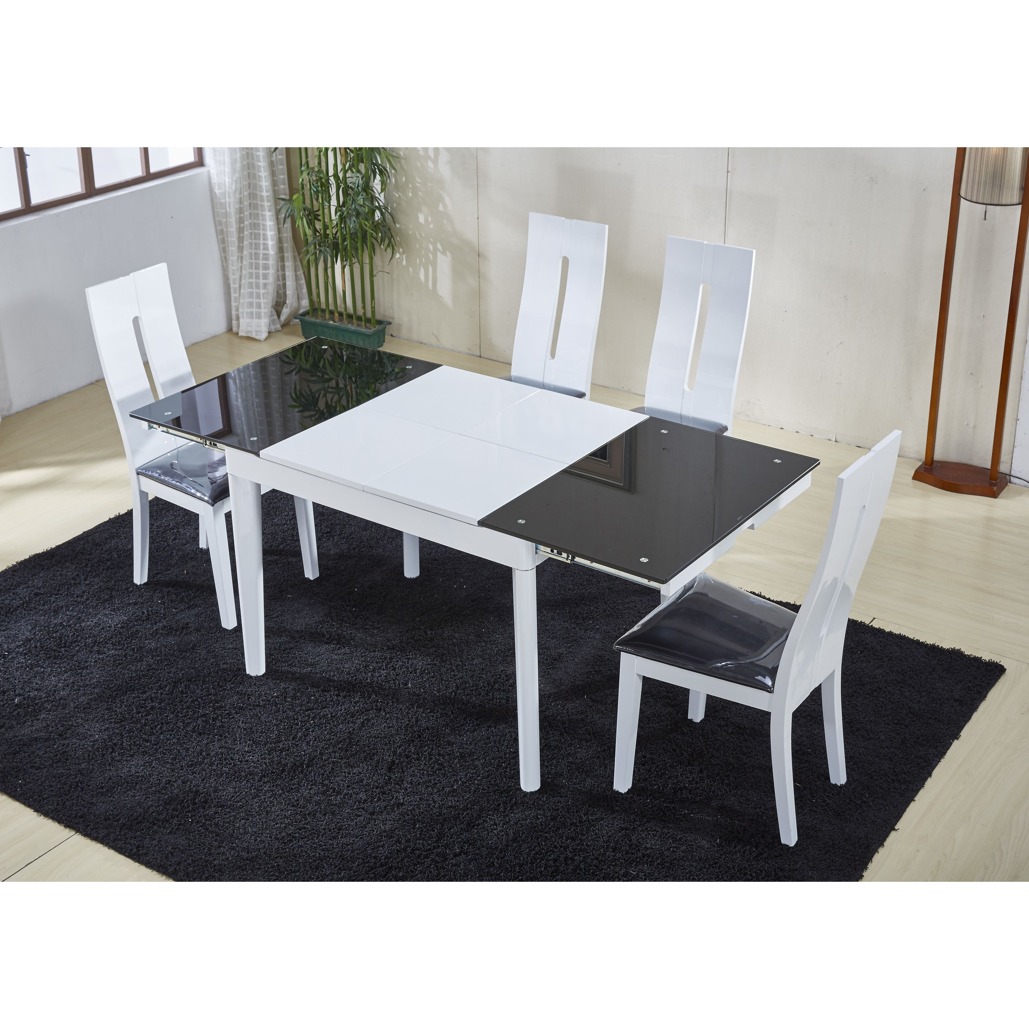 At Home USA Extendable Dining Table kitchen