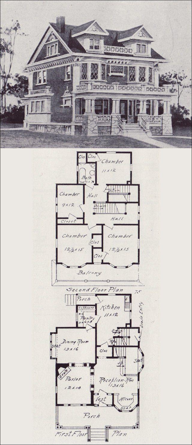 plan de maison western