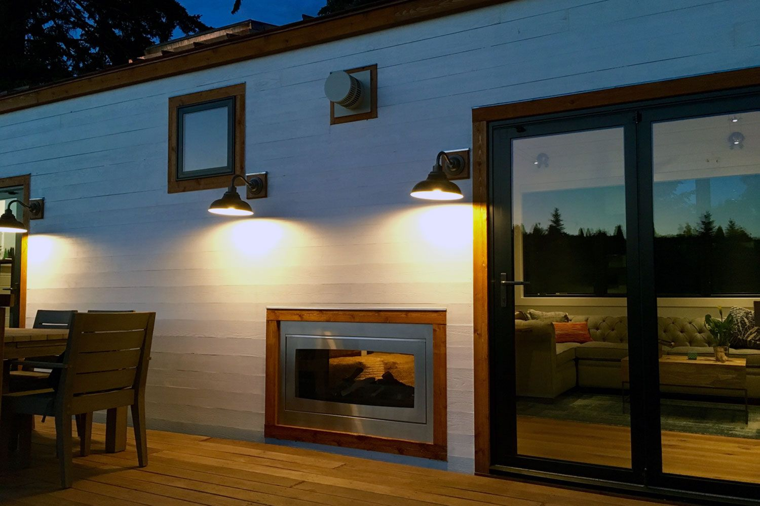 I like the inside/outside fireplace one of the BEST tiny home design Inside Outside Small Home Designs Photos on small home layouts, small house design classic, small cabin home designs, small home interior design, small home plans country style, small home exterior designs, small affordable master bathroom designs, small home decorating, small family home inside, small front lobby design ideas, small dwellings design, small home ideas,
