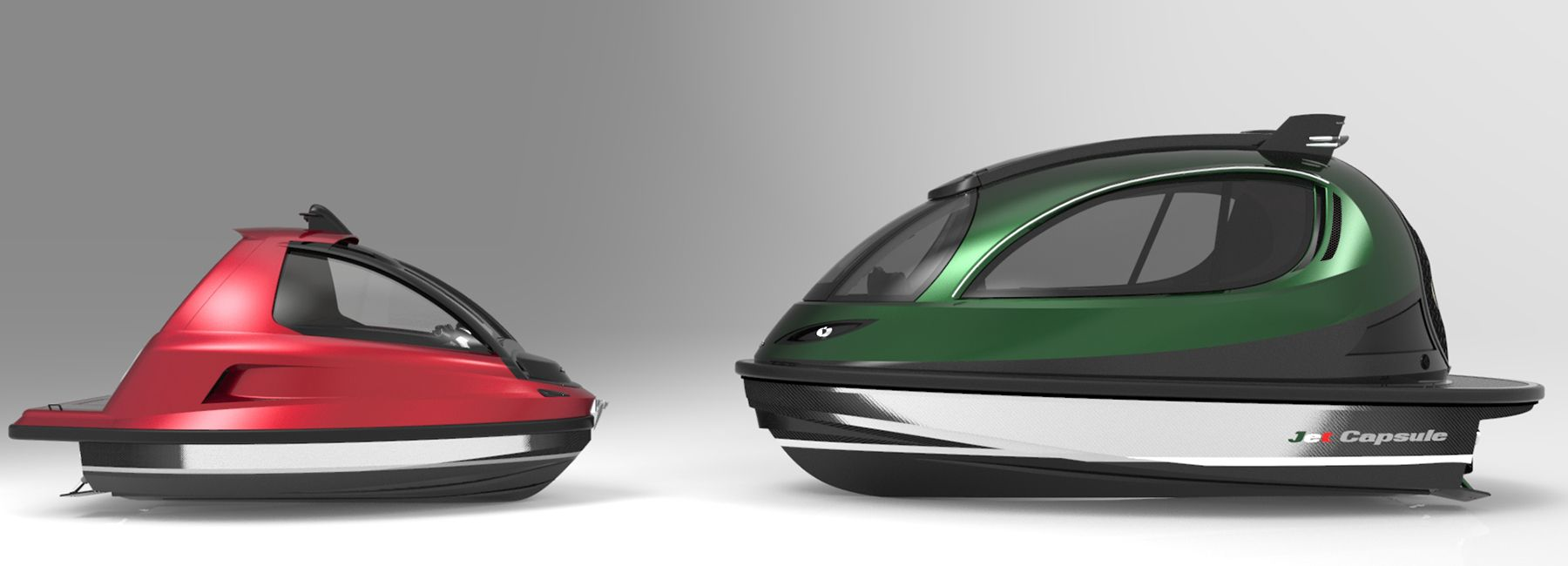 jet capsule packs italian lifestyle in their new only 5 meter-long mini jet