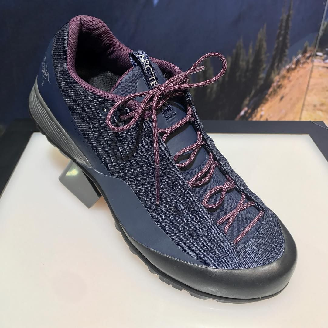 #FOOTWEAR #ProductInnovation - @arcteryx is launching at @outdoorshow its  new approach shoe