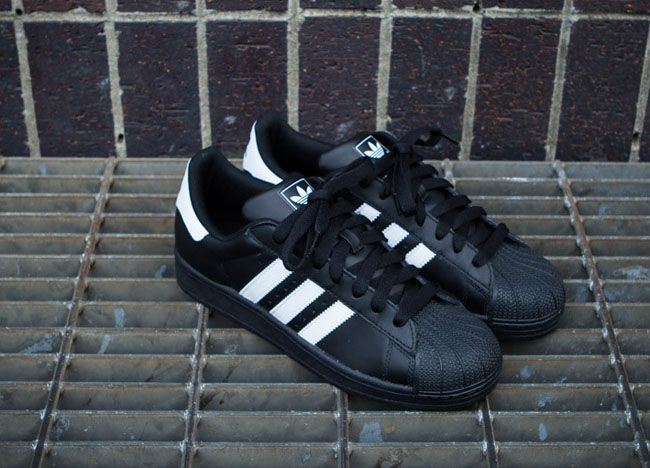 adidas Originals Superstar II White Black