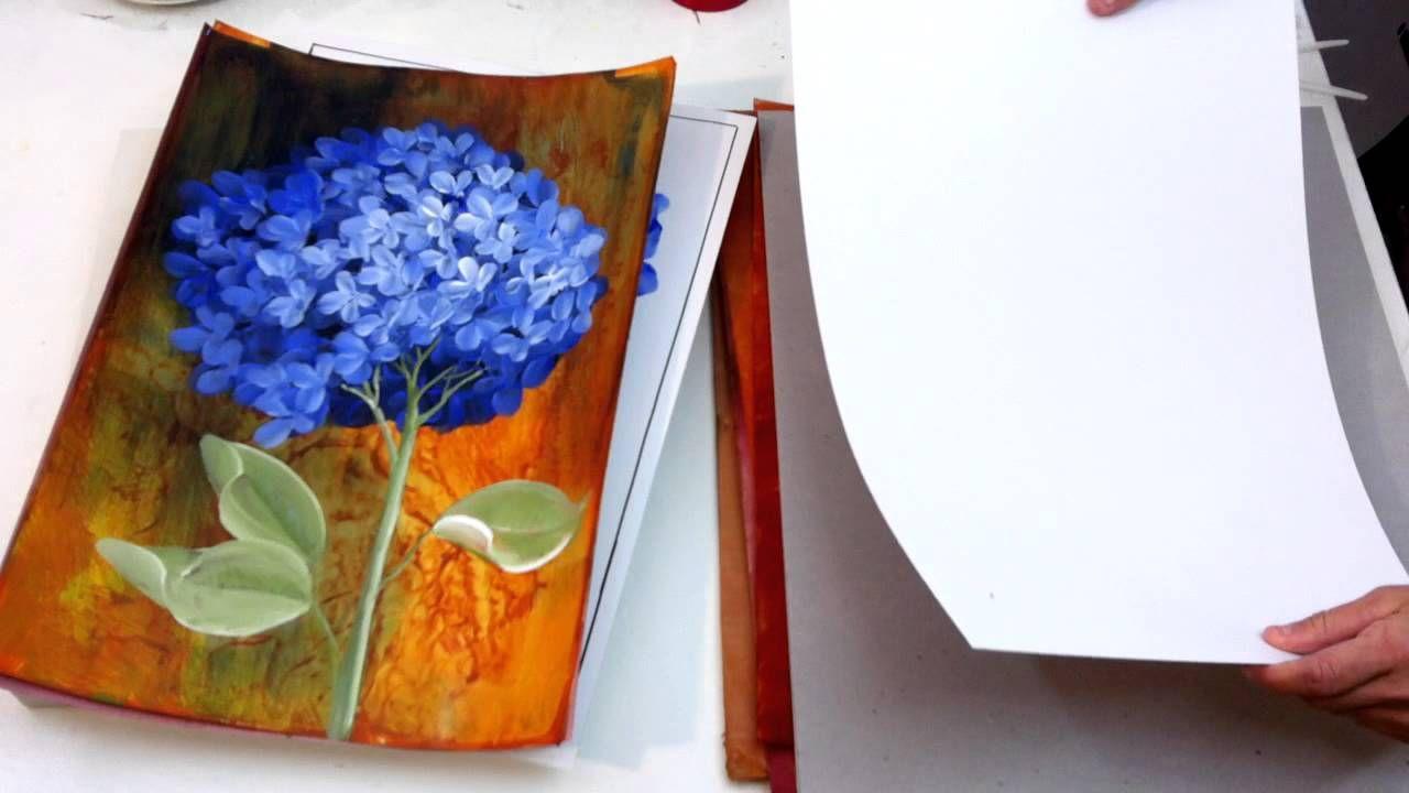 Pintura em Tela com Tinta Acrílica para Iniciantes - Materiais