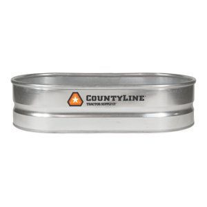 40 Gallon Water Trough From Tractor Supply Galvanized Stock Tank Stock Tank Steel Water Tanks