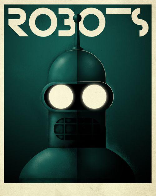 Robots by Grégoire Guillemin