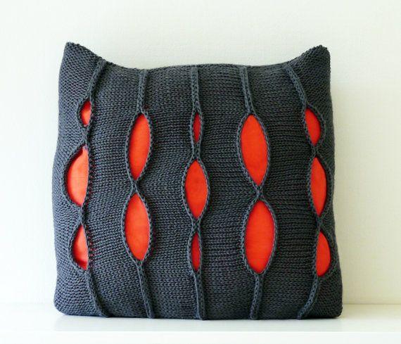 Grey Pillow, Decorative Pillow, Decorative Pillow Cover, Handmade Pillow, Contemporary Pillow, Throw Pillow, Designer Pillow, 20x20 Pillow