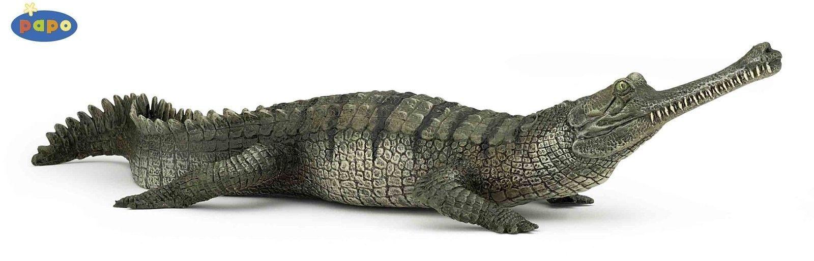 Gavial Crocodile 7 87 034 Papo Wild Animals 50154 Tiere Katzen