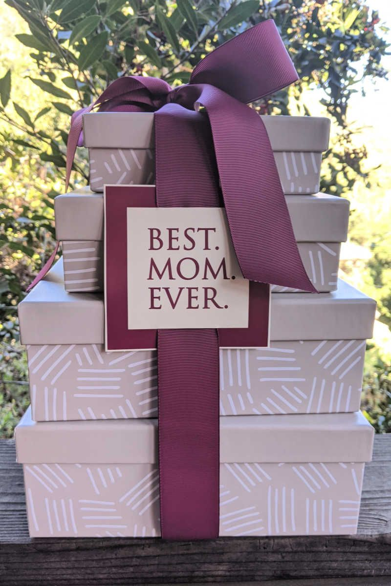 Pin by Mama Likes To Cook on gift wrapping Gift towers