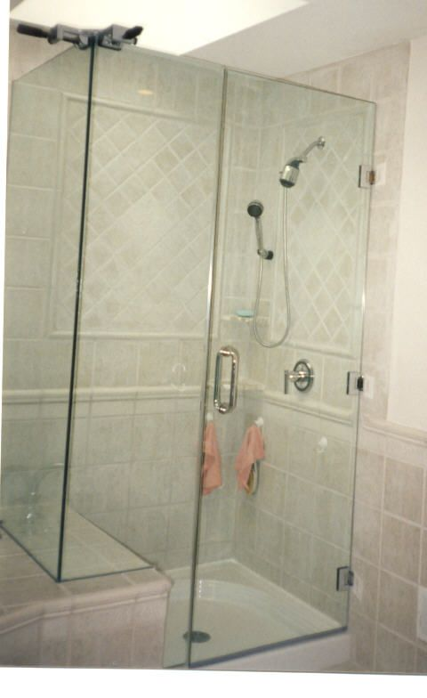 glass shower doors frameless frameless shower doors